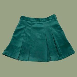 Forever 21 Teal Tennis Skirt